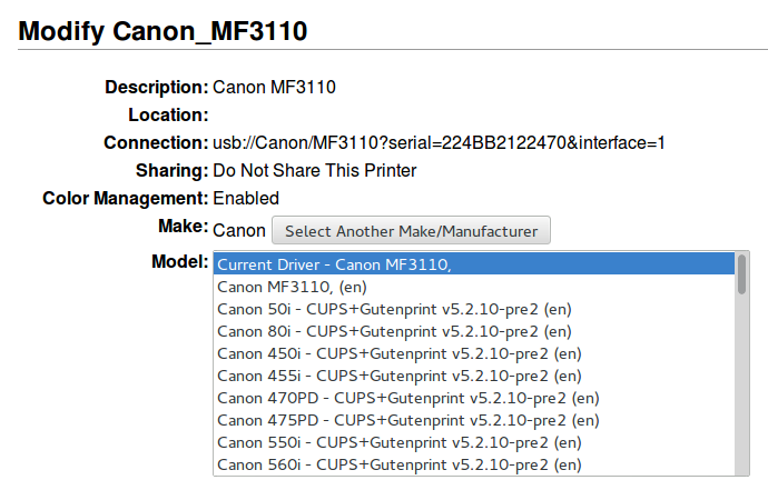 Canon 3110 драйвер Windows 7 64 Bit