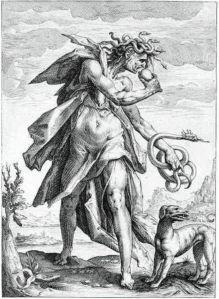 Envidia, de Hendrick Goltzius
