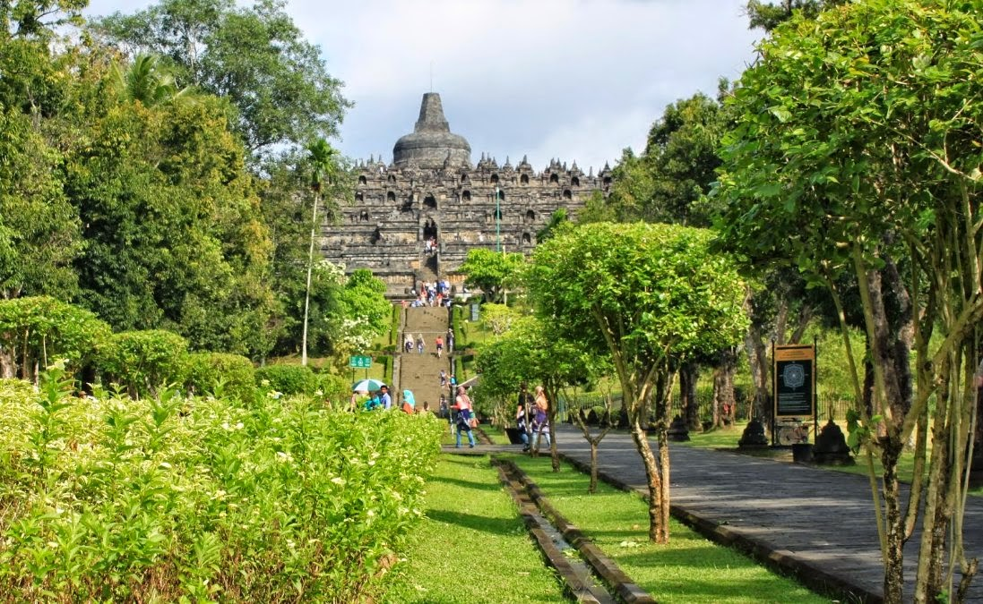 Borobudur Temple - Magelang, Central Java