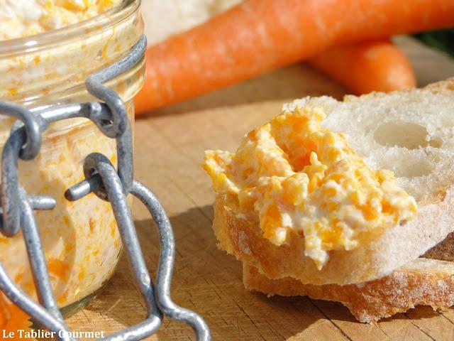 Les rillettes de carottes végétariennes