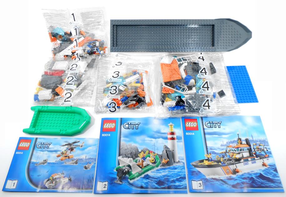 Oz Brick Nation Lego City 60014 Coast Guard Patrol Review