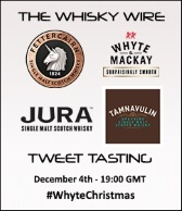 Whyte & Mackay Tweet Tasting