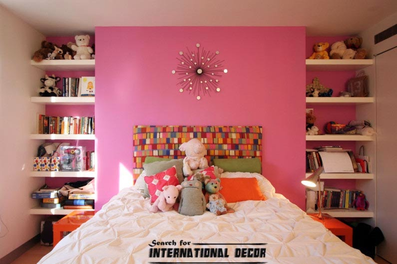 small child's room design,how to save space,kids room shelves