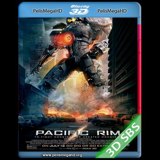 TITANES DEL PACIFICO (2013) 3D SBS 1080P HD MKV ESPAÑOL LATINO