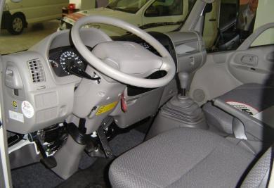 truck dyna interior
