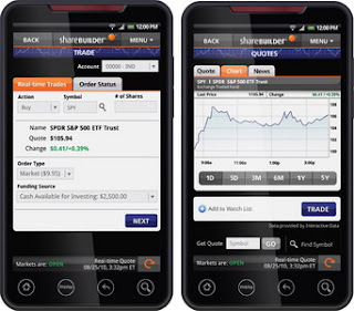 ING DIRECT USA launches Android mobile banking and ShareBuilder mobile investing applications