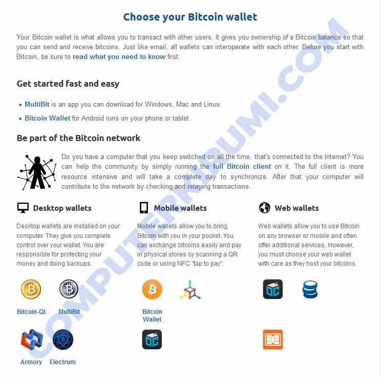 Gettting Started With BITCOIN