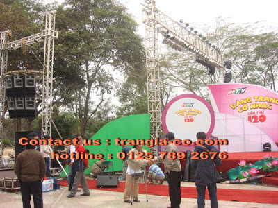 Tổ chức sự kiện Trần gia - Cho thuê ánh sáng sân khấu