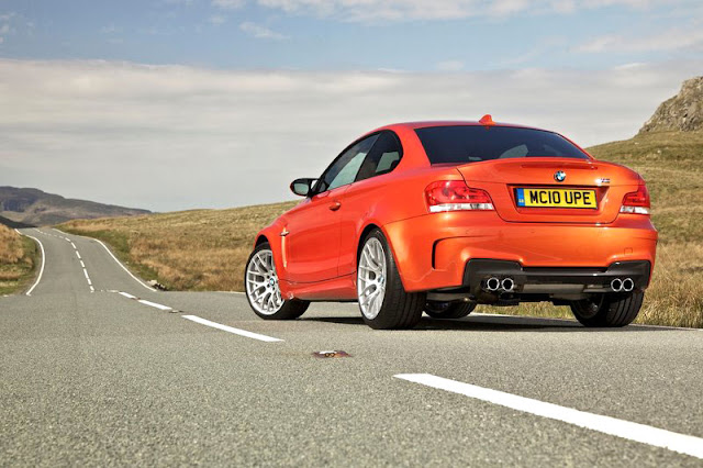 2011 BMW 1 series M coupe Back Exterior