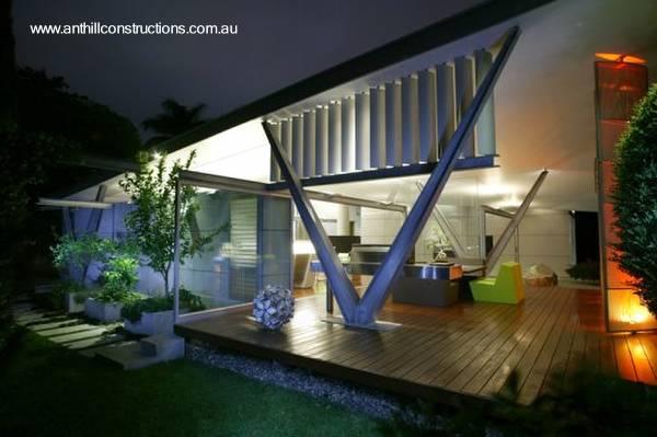 Arquitectura de casas original casa residencial for Casa moderna 44 belvedere
