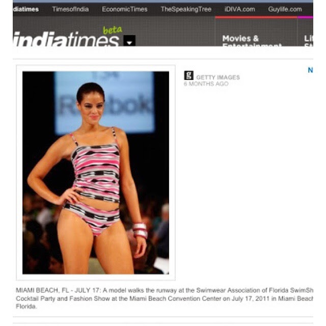 Maytee on the India Times News