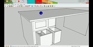 Cara Membuat Meja Belajar Menggunakan Google SketchUp 8