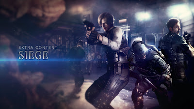 Resident Evil 6 - Siege Mode DLC Logo - We Know Gamers