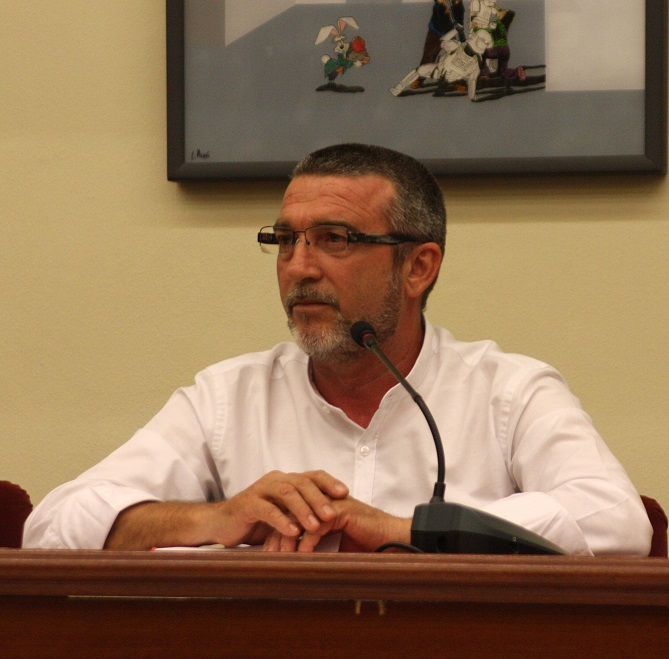 Toma Posesión Legislatura 2015-2019. Intervención de Antonio Angulo.