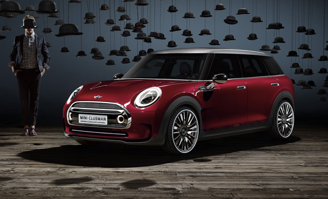 Mini Clubman Concept plus shades of Magritte