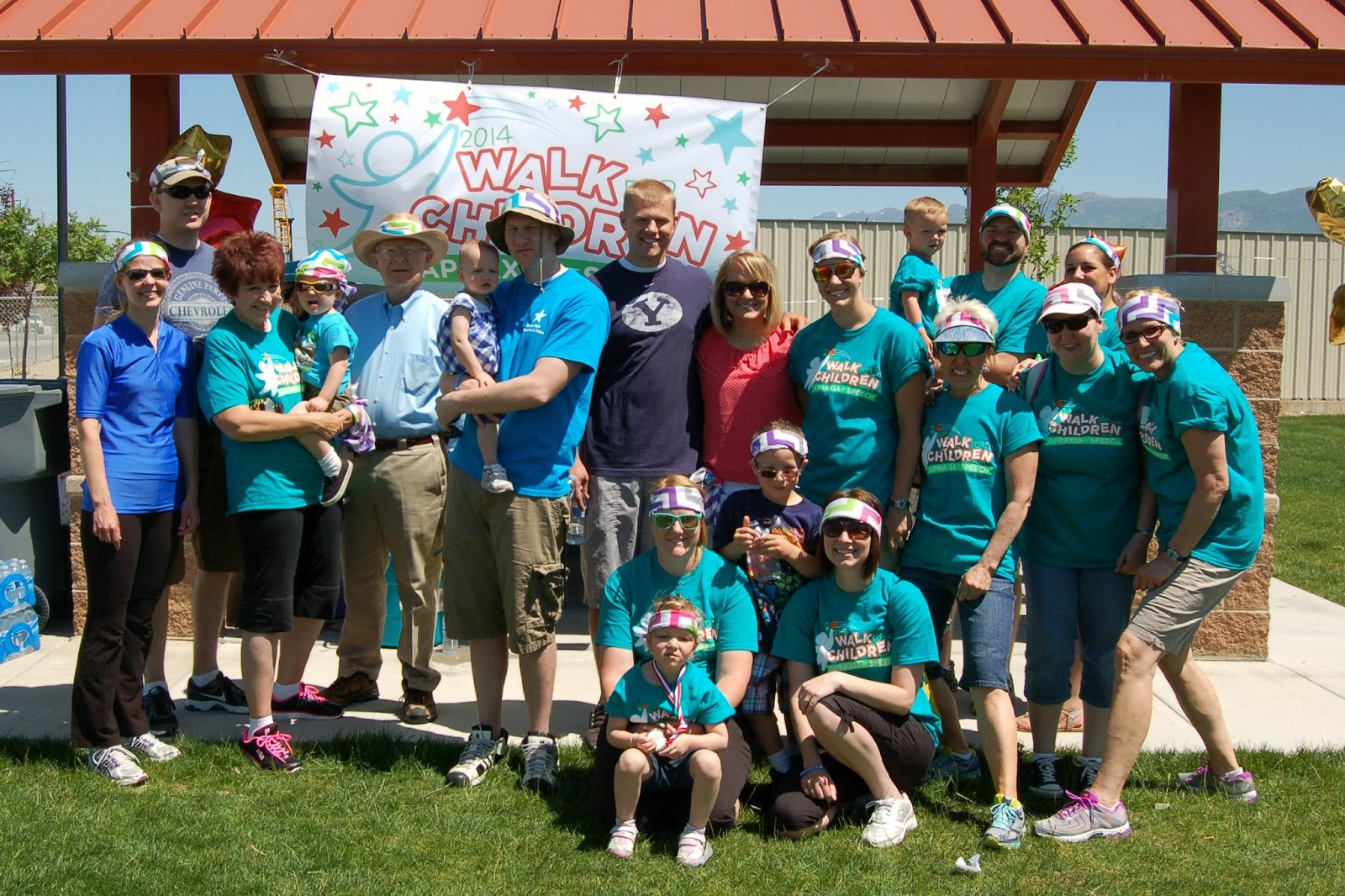 Utah Apraxia Walk 2014 - Team Paige