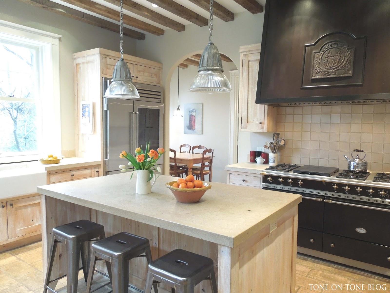 Family Kitchen Tone On Tone French Style Family Kitchen