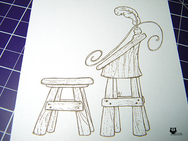 copic deutschland blog tutorial holz kolorieren. Black Bedroom Furniture Sets. Home Design Ideas