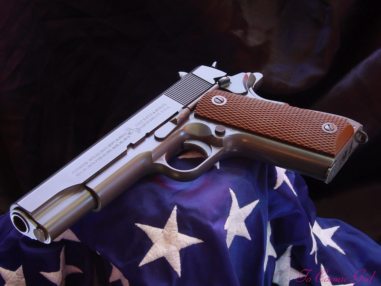 guns weapons colt m1911