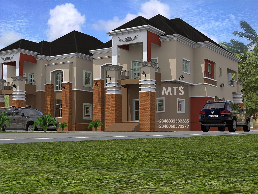 Mr chris 4 bedroom twin duplex residential homes and for 4 bedroom duplex house designs
