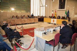 Pleno extraordinario del Ayuntamiento de Almería
