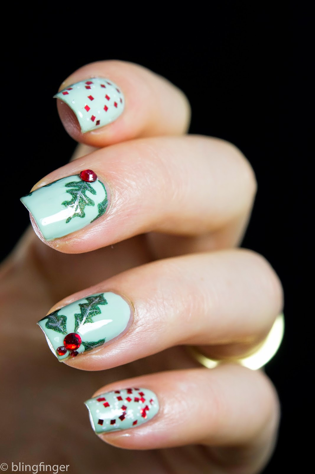 Superb Holly Nail Art 24 Given Inspiration Article