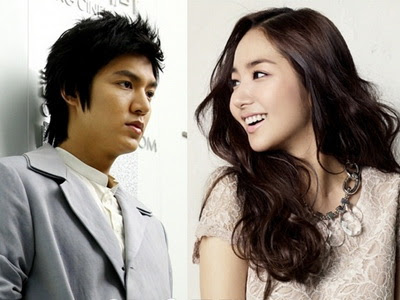 Foto Lee Min Ho dan Park Min Young City Hunter