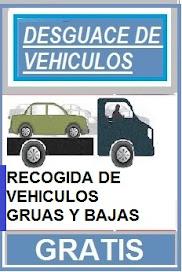 BAJA Y RECOGIDA DE VEHICULOS