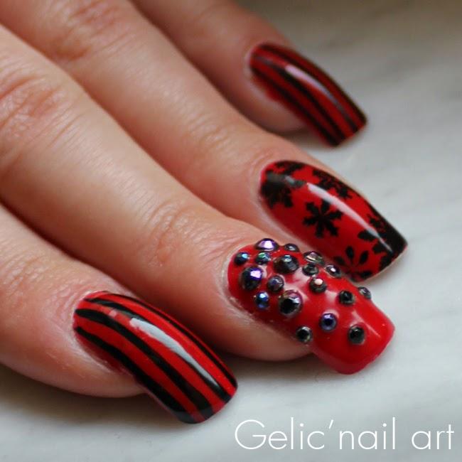 Polisheaterials Used Nordic Cap Np09 Red Moyou S Special Black Nail Polish Jordana Pop Art Mark Image Plate At09