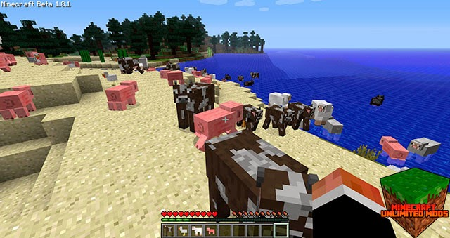 Craftable Animals Mod mobs