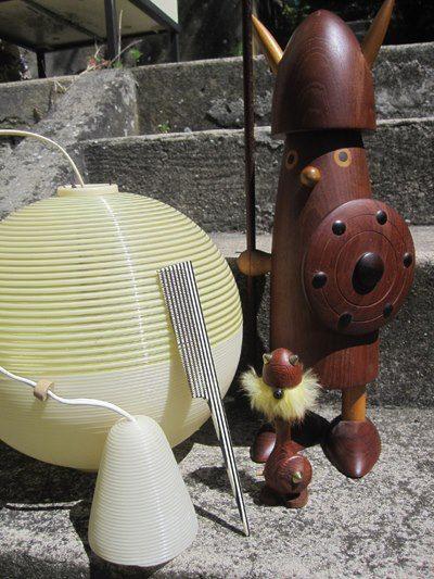 vikings , Rotaflex lamp , vintage comb 1960 1950 1970 70s 50s 60s danish scandinavian mid century viking