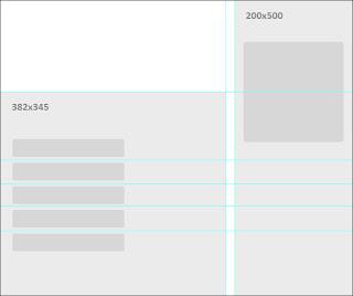 заготовка под дизайн и графическое меню группы во вконтакте