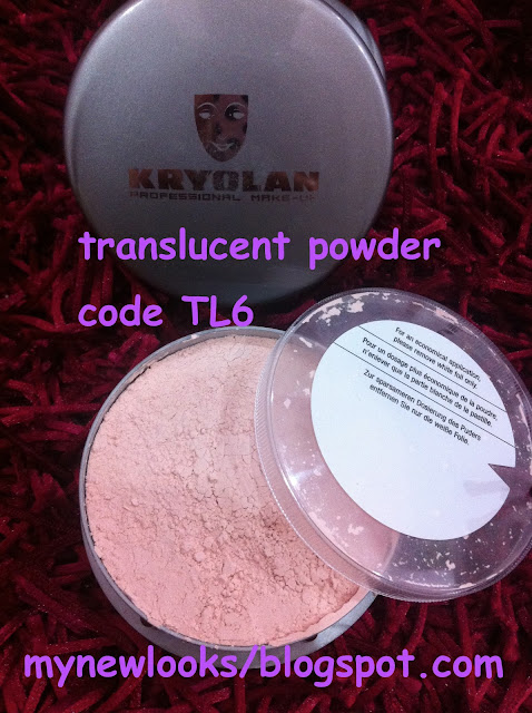 Newlooks: Product kryolan supracolor, loose powder and tv ...