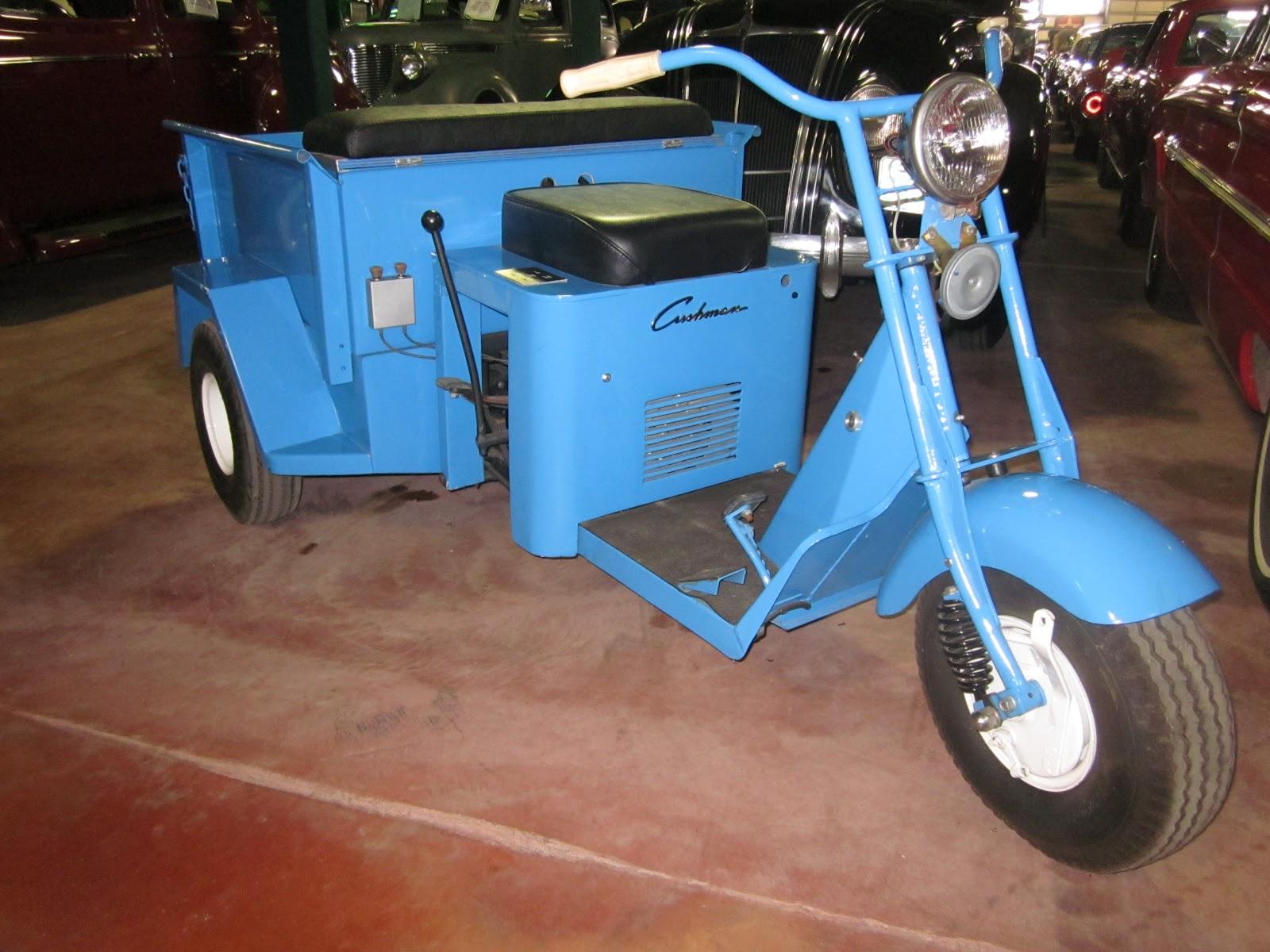 1948 Cushman 3 Wheeler on display at the LeMay Family Museum, Spanaway ...
