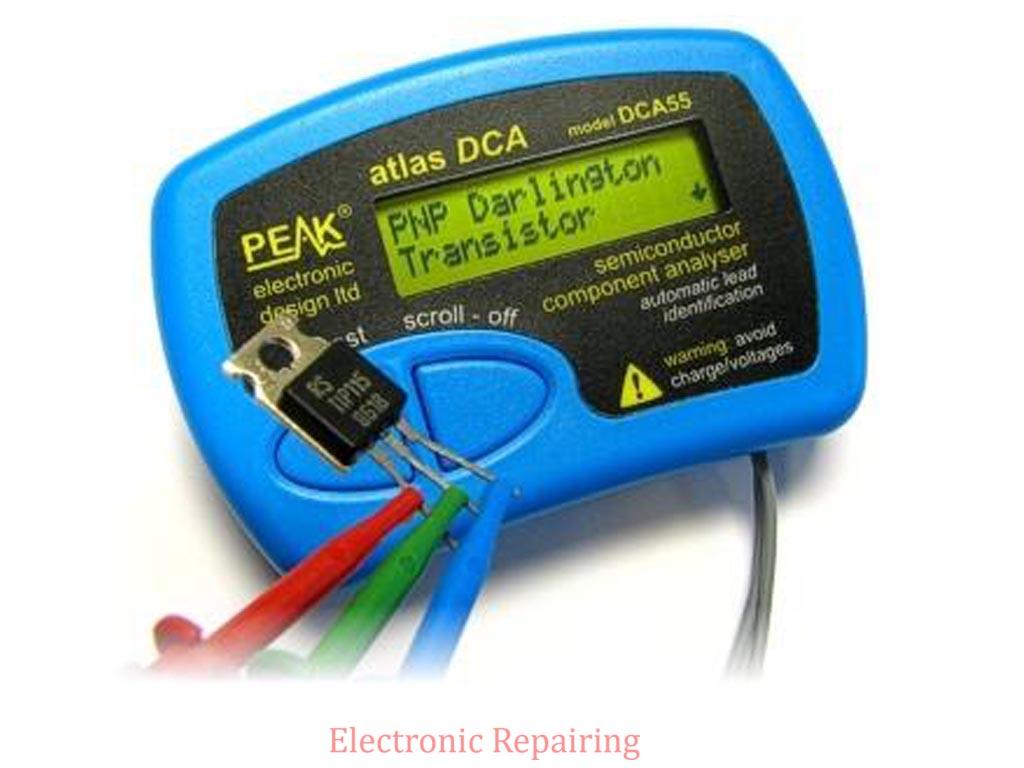 Electronic Test Equipment : Electronic test equipment repairing