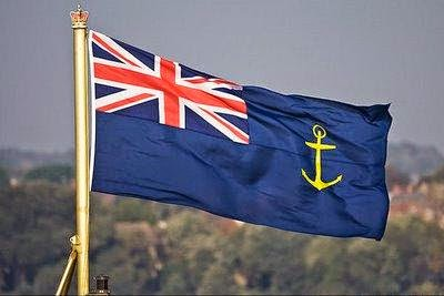Why band name British Sea Power - British naval flag