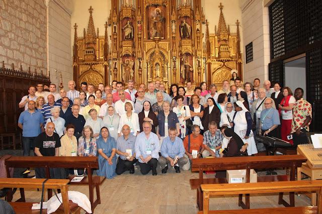 Semanistas en el Monasterio del Carmelo