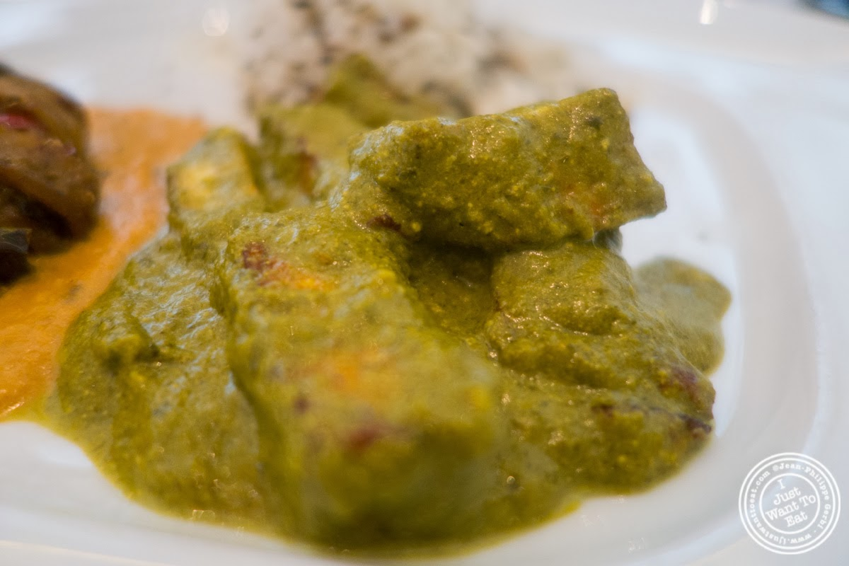 image of mehti paneer at Tamarind, Indian cuisine, in Tribeca, NYC, New York