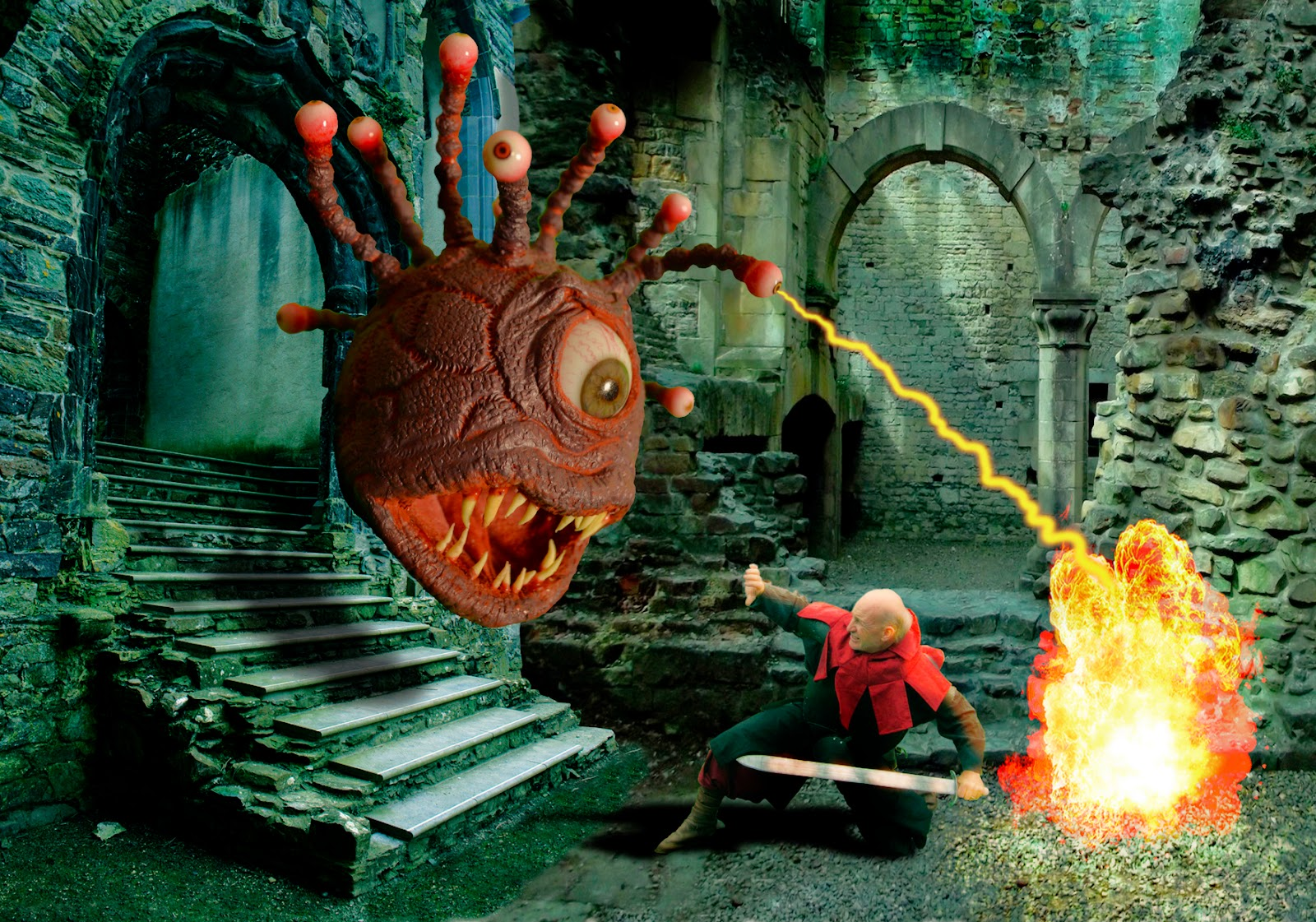 The Lone Animator: D & D Monsters: The Beholder