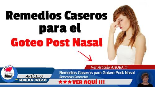 Cmo detener el goteo post-nasal Muy Fitness