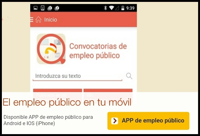 APP MOVIL Empleo Público