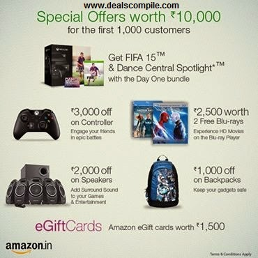 Pre-order Xbox one with Rs.10,000 offers