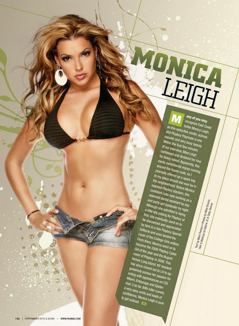 Monica Leigh Sexy in Short Jeans