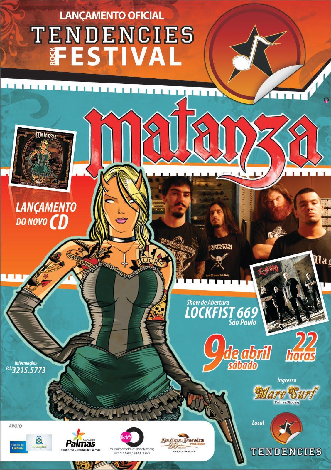 Lançamento do 8º Tendencies Rock Festival com Matanza e Lockfist 669