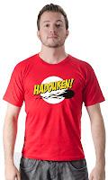 Camiseta Namorado Geek Hadouken Bazinga