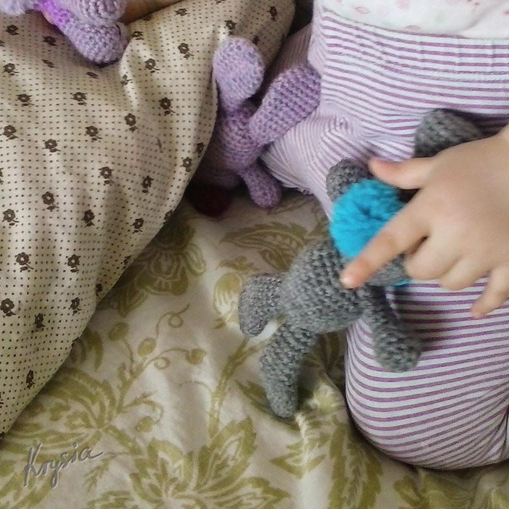 króliczki szydełkowe amigurumi