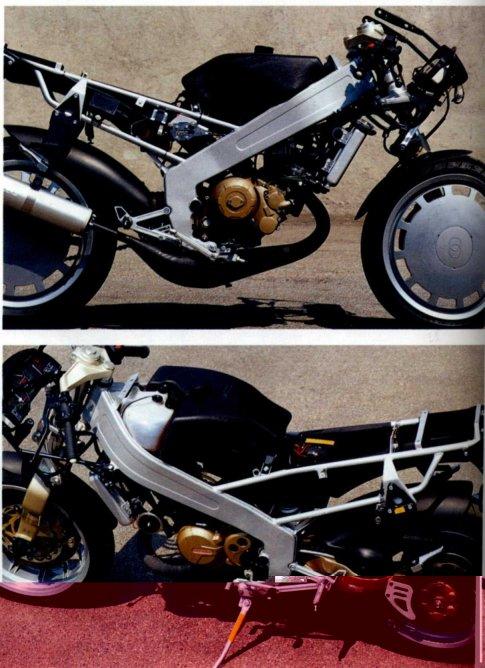 Gilera CX125 Motorcycle Frame