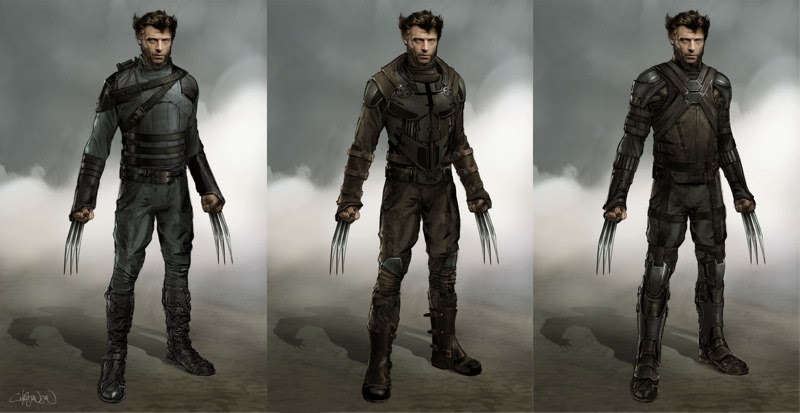 Arte conceptual de X-Men: Días del Futuro pasado - Lobezno