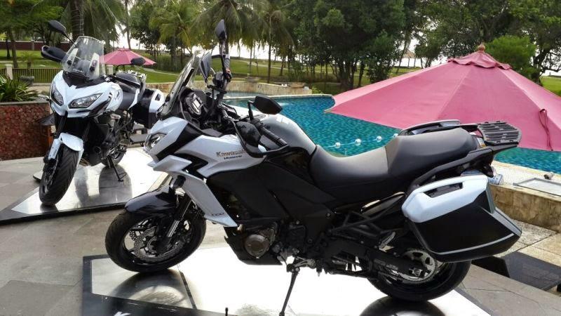 Kawasaki Versys 650 and Versys 1.000