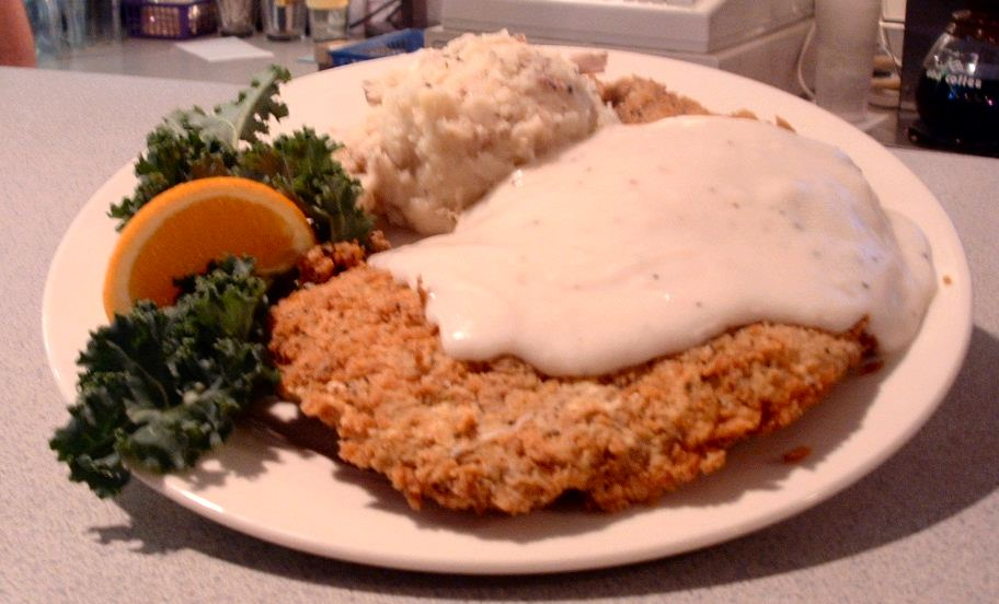 Chicken Fried Steak Ain't Chicken